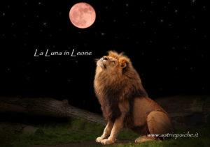 La Luna in Leone