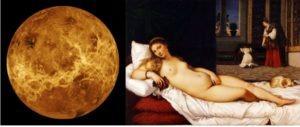 Venere, il pianeta dell'amore