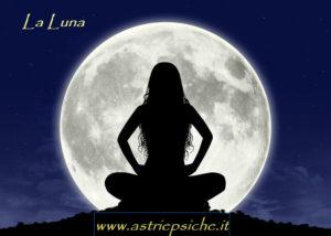 La Luna in astrologia