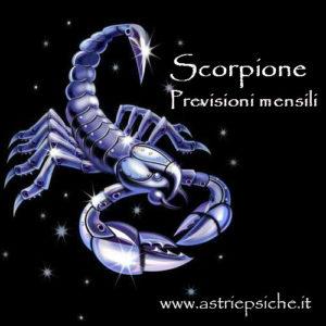 previsioni scorpione