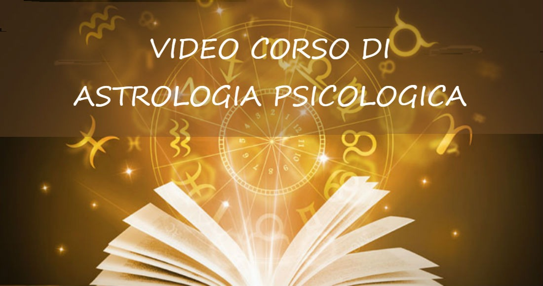 VIDEO CORSO ASTROLOGIA