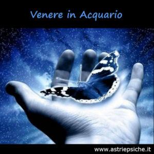 Astrologia e amore: Venere in Acquario