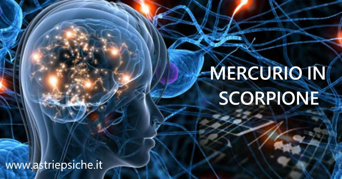 MERCURIO IN SCORPIONE