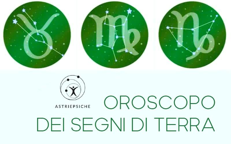 4 oroscopo segni di terra toro vergine scorpione